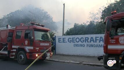 TRE transfere local de votação após parte de escola ser destruída por incêndio em Marília