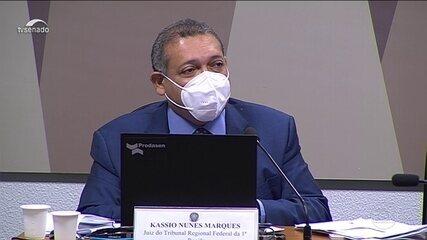 Kassio Marques é aprovado pelo Senado para a vaga no Supremo Tribunal Federal