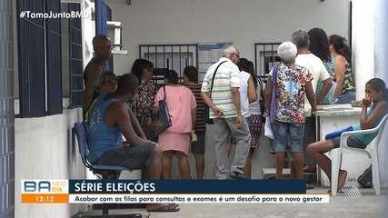 Eleitores da capital baiana falam sobre problemas para marcar consultas e exames pelo SUS