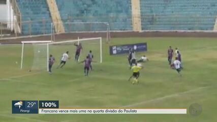 Francana vence o São Carlense pela segunda divisão do Campeonato Paulista