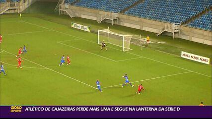 Atlético-PB perde novamente para o América-RN e segue na lanterna do Grupo 3 da Série D