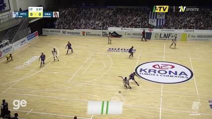 Os gols de Minas 1 x 1 Dracena