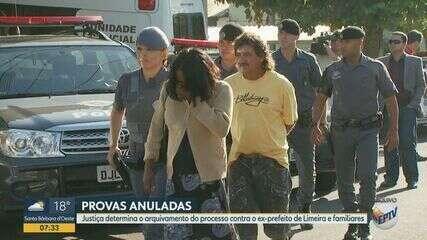 Justiça determina o arquivamento do processo contra o ex-prefeito de Limeira e familiares