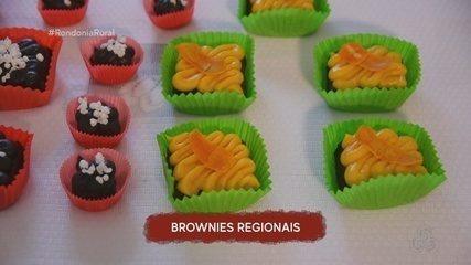 Veja como fazer cobertura de brownie com brigadeiros regionais