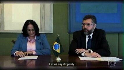 Brasil assina declaração contra aborto e em defesa da família tradicional
