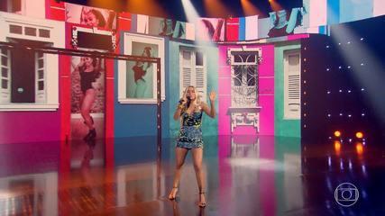 Anitta canta 'Me Gusta' no palco do Caldeirão
