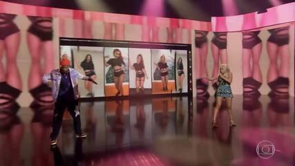 Anitta e Mc Zaac cantam 'Desce Pro Play'