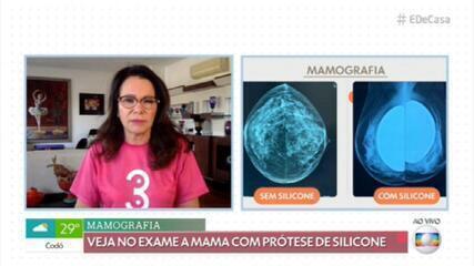 Prótese de silicone não atrapalha o exame de mamografia