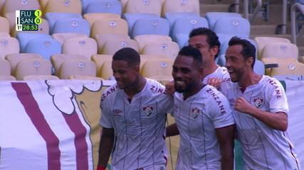 Melhores momentos: Fluminense 3 x 1 Santos pela 18ª rodada do Brasileirão 2020
