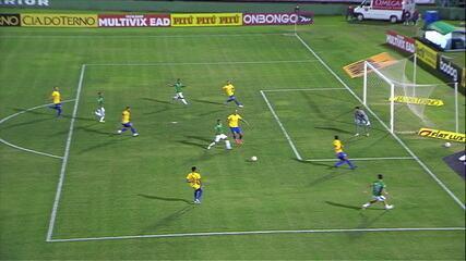Os gols de Guarani 2 x 1 Avaí pela 18ª rodada da série B do Brasileirão