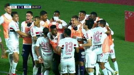 Melhores momentos de São Paulo 2 (10) x (9) 2 Fortaleza pelas oitavas de final da Copa do Brasil