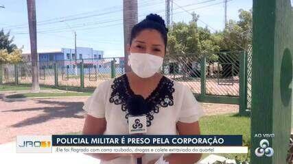 Polícia Militar é preso pela corporação