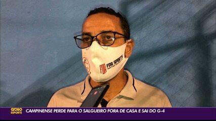 Salgueiro vence o Campinense e se firma na terceira colocação do Grupo 3 da Série D
