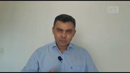 Candidato Paulo Márcio fala sobre o tema mobilidade