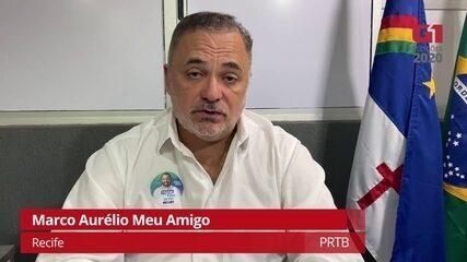 Marco Aurélio Meu Amigo (PRTB) explica como pretende combater a corrupção no Recife
