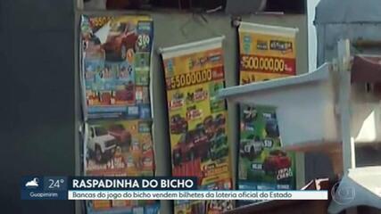 Bancas do jogo do bicho vendem bilhetes da loteria oficial do Rio de Janeiro