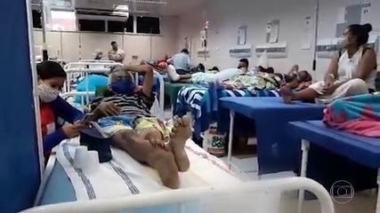 Manaus volta a ter UTIs lotadas de pacientes com Covid