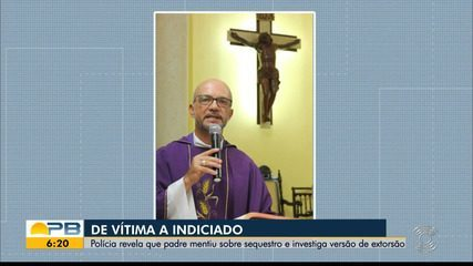 Padre Gilmar mentiu sobre sequestro e é indiciado por falsa denúncia