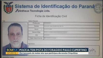 Assassino do ator Rafael Miguel teria usado documentos falsos no Paraná