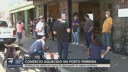 Prefeitura faz alerta para desrespeito às regras sanitárias no comércio de Porto Ferreira