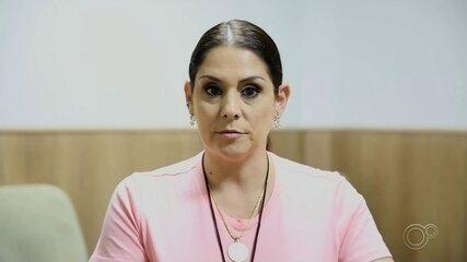 Candidata Simone Marquetto fala sobre propostas para transporte público em Itapetininga