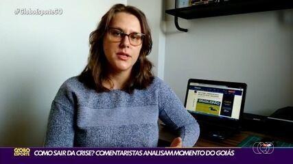 Comentaristas analisam a péssima campanha do Goiás na Série A