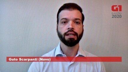 Guto Scarpanti (Novo) fala sobre saúde em Campo Grande
