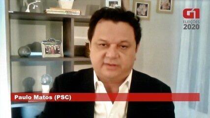 Paulo Matos (PSC) fala sobre saúde em Campo Grande