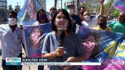 Neuzinha (PSDB) fala sobre propostas para a saúde de Vitória