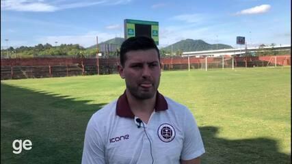 Romário comenta sobre as experiências no Sul-Americano e Mundial sub-20 pela Seleção