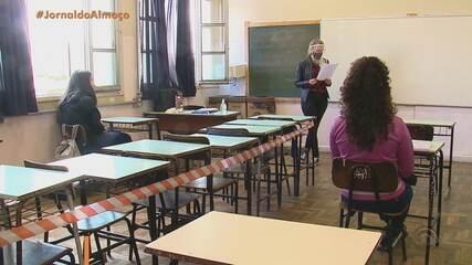 Adesão de alunos é baixa no retorno às aulas presenciais em Caxias do Sul