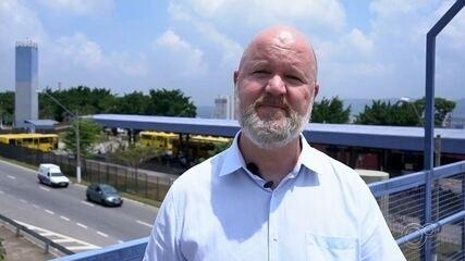 Candidato Edney Duarte Jr fala sobre propostas para transporte público em Jundiaí