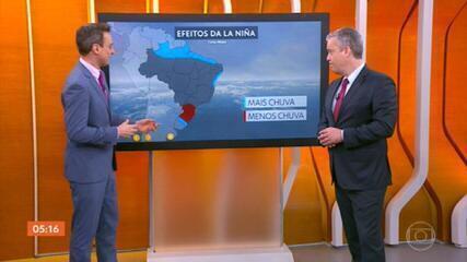Veja a previsão do tempo para todo o país nesta quinta-feira