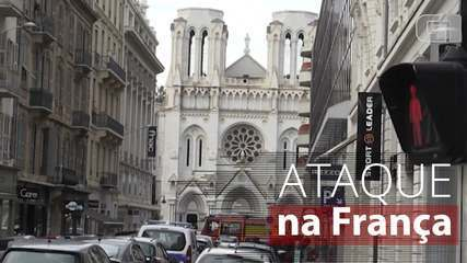 Ataque a faca deixa 3 mortos em Nice, na França