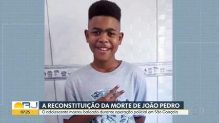 Polícia Civil faz reconstituição da morte do menino João Pedro Mattos nesta quinta (29)