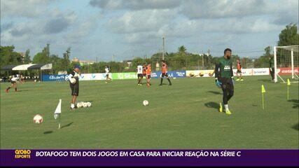 Botafogo-PB tem dois jogos seguidos em casa para iniciar reação na Série C