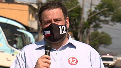 Candidato à Prefeitura de Mogi das Cruzes, Fred Costa faz campanha no Jardim Universo