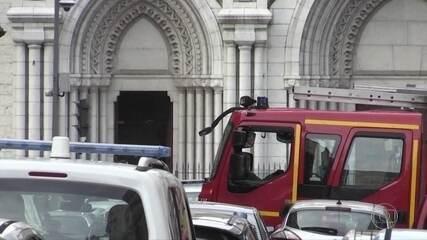 Terrorista mata três pessoas em Nice, na França, e brasileira é uma das vítimas