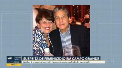 Polícia encontra os corpos de um casal dentro de um carro em Campo Grande; suspeita é de feminicídio