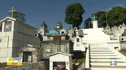Cemitérios adotam medidas contra a Covid-19 para o Dia de Finados