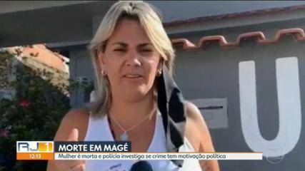 Renata Castro é assassinada em Magé