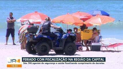 Feriado terá reforço na fiscalização na região da Grande Florianópolis