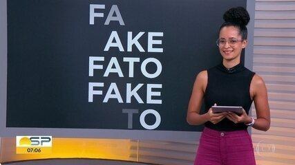 Veja o que é Fato ou Fake nas eleições municipais de SP