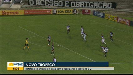 Botafogo-PB 1 x 1 Jacuipense, pela rodada #13 da Série C