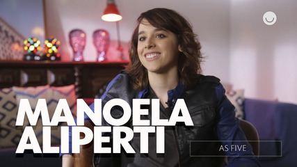 Confira entrevista exclusiva com Manoela Aliperti sobre As Five