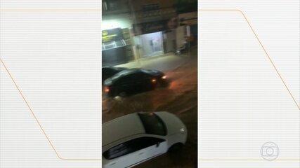 Chuva provoca estragos em Irecê, no norte da Bahia