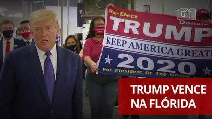 Donald Trump vence na Flórida