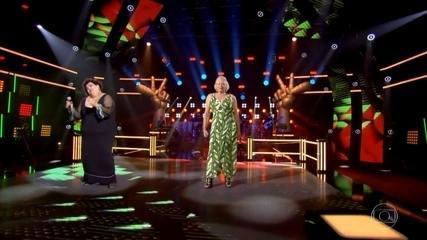 Simone Mazzer e Tecca Maris cantam 'É'