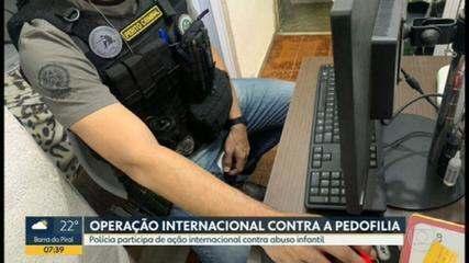 Polícia cumpre mandados contra pornografia infantil no RJ