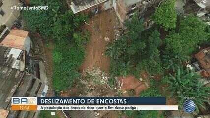 Eleições 2020: deslizamento de encostas em Salvador é tema de reportagem especial